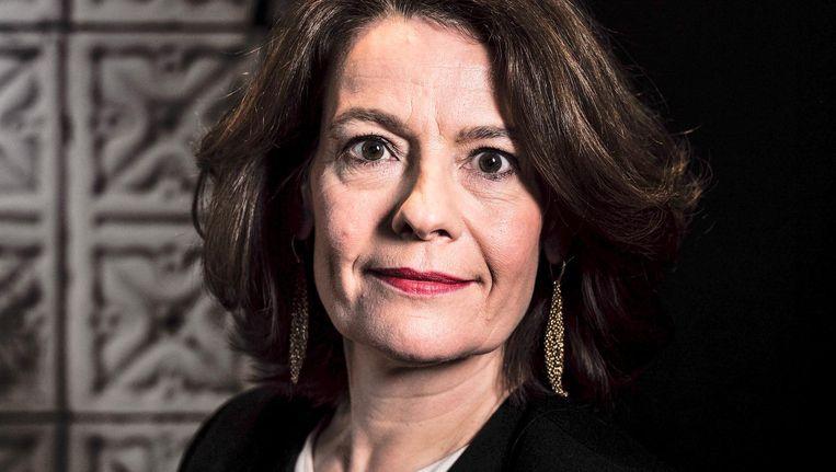 AFM-voorzitter Merel van Vroonhoven: 'We gaan hier dit jaar samen met verslavingsdeskundigen naar kijken.' Beeld Jiri Buller / de Volkskrant