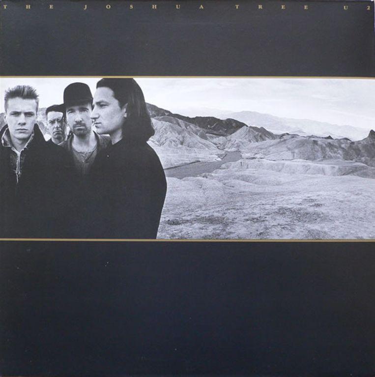 Het legendarisch album The Joshua Tree van U2, met foto's van Anton Corbijn. Beeld