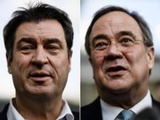 Machtsstrijd om Merkels stoel: CDU-comité beslist in voordeel van 'der Armin'