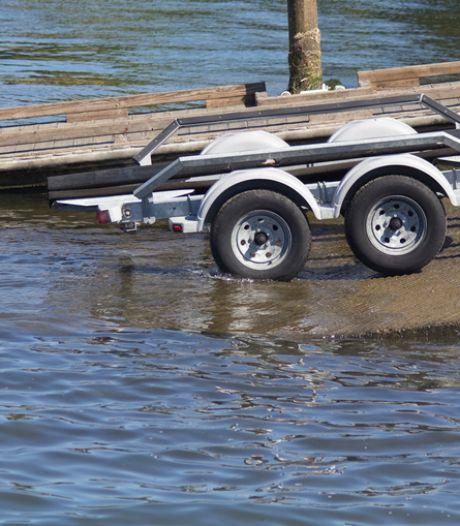 Gestolen boot teruggevonden in Sas van Gent
