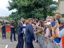 Man die Franse president Macron klap gaf, heeft na celstraf 'geen spijt'