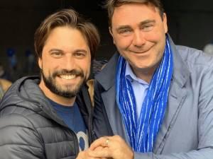 La photo de la réconciliation entre Georges-Louis Bouchez et Denis Ducarme?