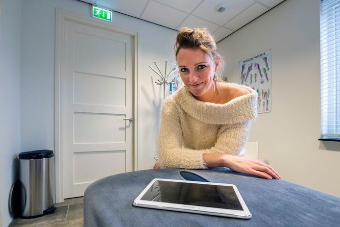 Fysiotherapeute Barbara van Gelderen: 'Ik ben hyperenthousiast.'