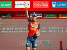 Ritwinnaar Nibali zat er doorheen in slotfase