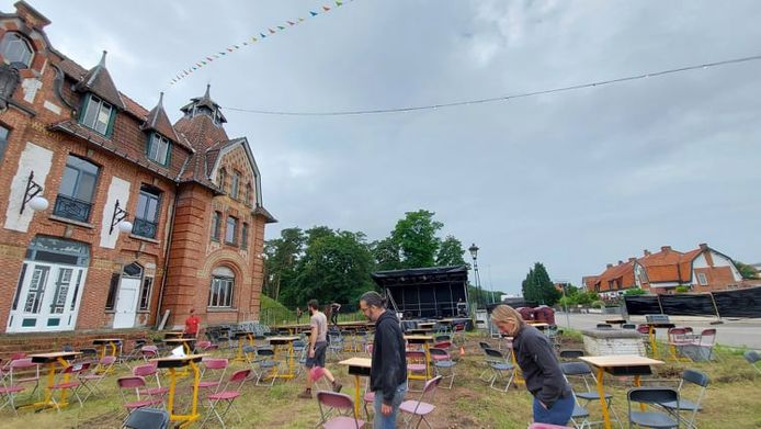 Het Casino van Gompel wordt klaargestoomd voor het allereerste Casino Festival.