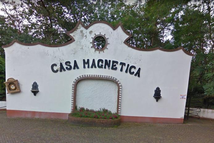 Casa Magnetica zoals de attractie er de laatste jaren uitzag.