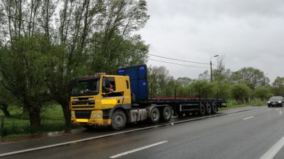 Trucker moet bijna 5.000 euro boete betalen