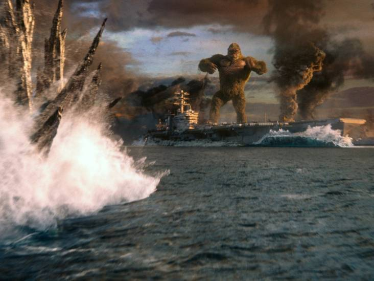 Twee sterren voor Godzilla vs. Kong: Jammer dat er ook mensen in rondlopen