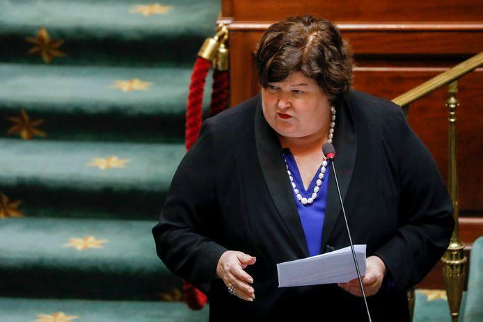 Minister van Volksgezondheid Maggie De Block.
