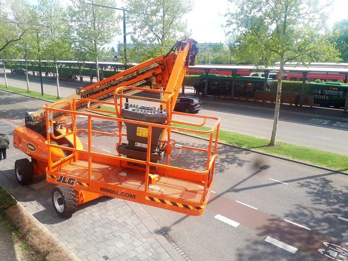 Riwal werkt in Nederland ook al met JLG-materiaal.