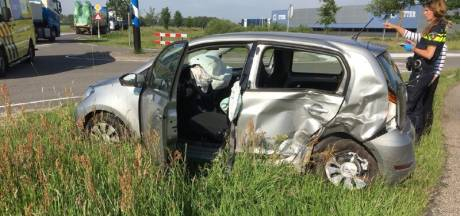 Vrouw gewond bij botsing in Hardenberg