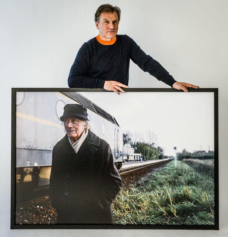 Michel Vanneuville exposeert zijn foto's van Delvaux
