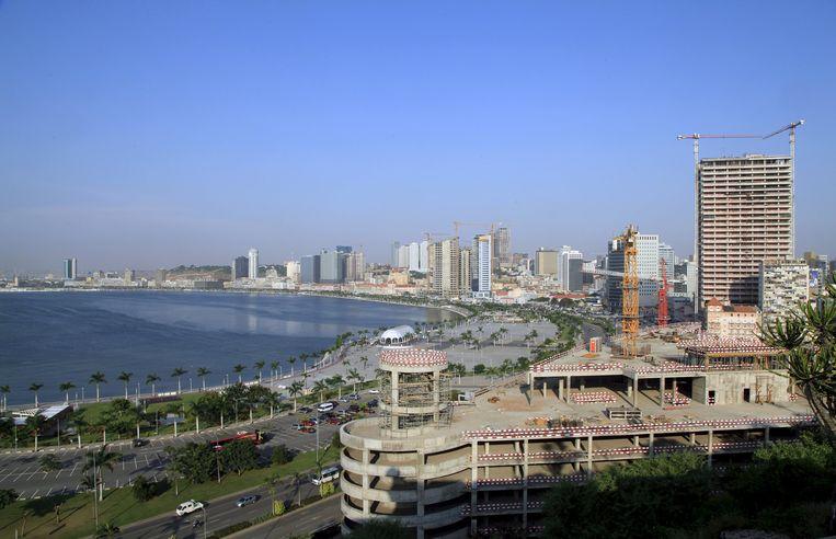 Luanda, de hoofdstad van Angola.