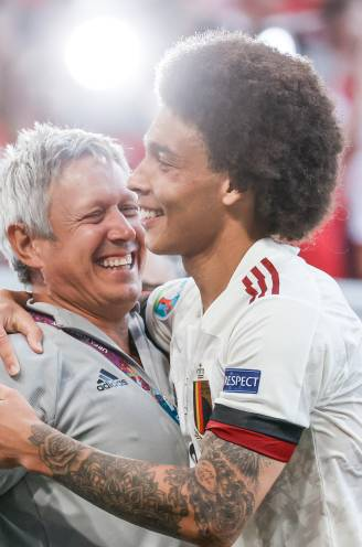 """Axel Witsel is amper 5 maanden na zijn gescheurde achillespees helemaal terug: """"In de achtste finale wil ik er helemaal staan"""""""