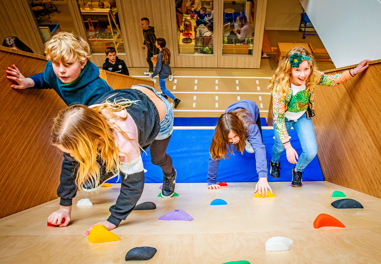 Klimschool in Alblasserdam.