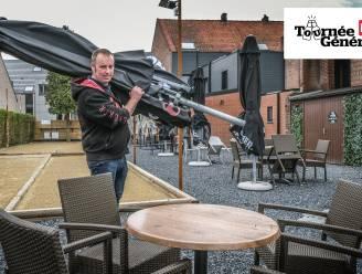 """Reuzegroot terras, maar David Vandeburie kiest voor kalme start in café De Trukendoos: """"We zetten maar 75 stoelen. 'Kerremesse' wordt het sowieso"""""""