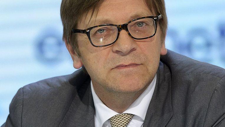 Guy Verhofstadt Beeld Photo News
