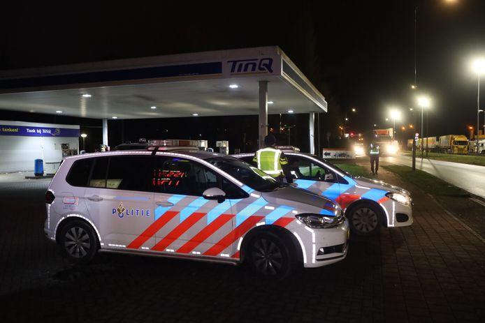 De politie kwam in Veghel met meerdere eenheden ter plaatse.