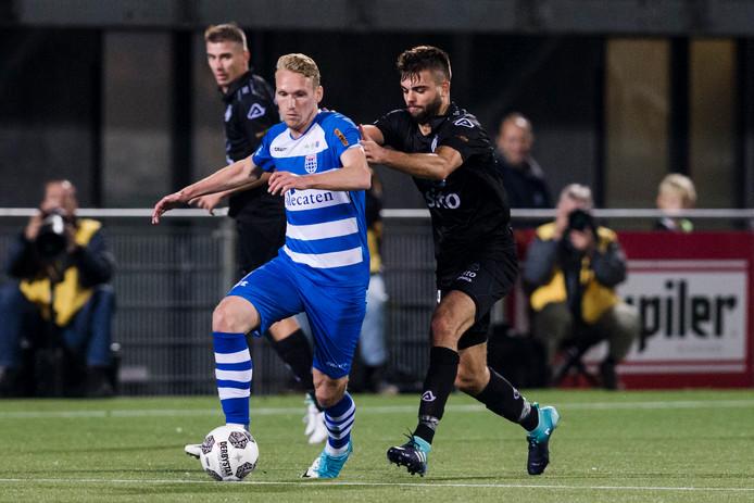 Stef Nijland speelt tot 2020 bij De Graafschap.