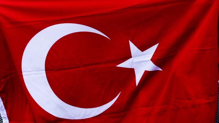 De Turkse vlag Beeld ANP