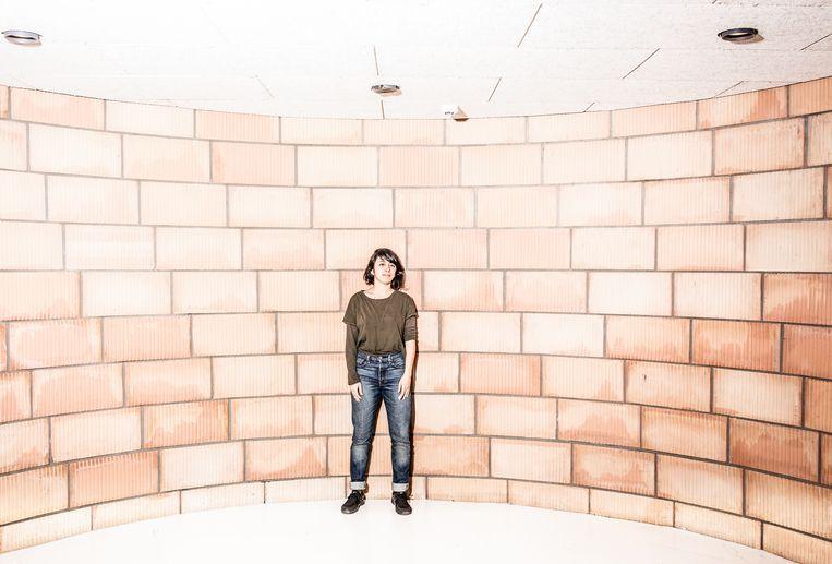 Kunstenares Vida Dena in Brussel. Beeld Franky Verdickt