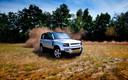 Vooralsnog heeft de nieuwe Land Rover Defender 'gewone' aanraakschermen.