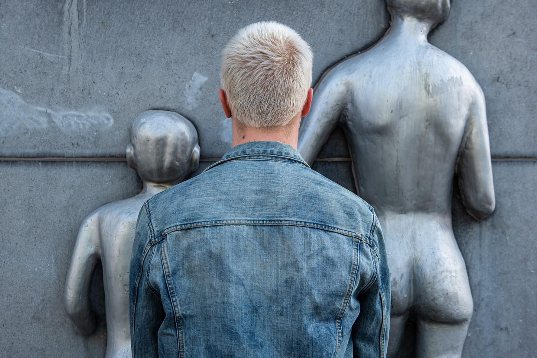 'Toen ik nog single was, was ik er niet vies van om een naaktfoto te sturen', zegt Jorik (23, schuilnaam).  Beeld Wouter Maeckelberghe
