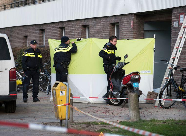 Hakim Changachi woonde met zijn zwangere vrouw op de Faustdreef in Utrecht. Op 12 januari 2017 werd hij doodgeschoten. Beeld Marnix Schmidt