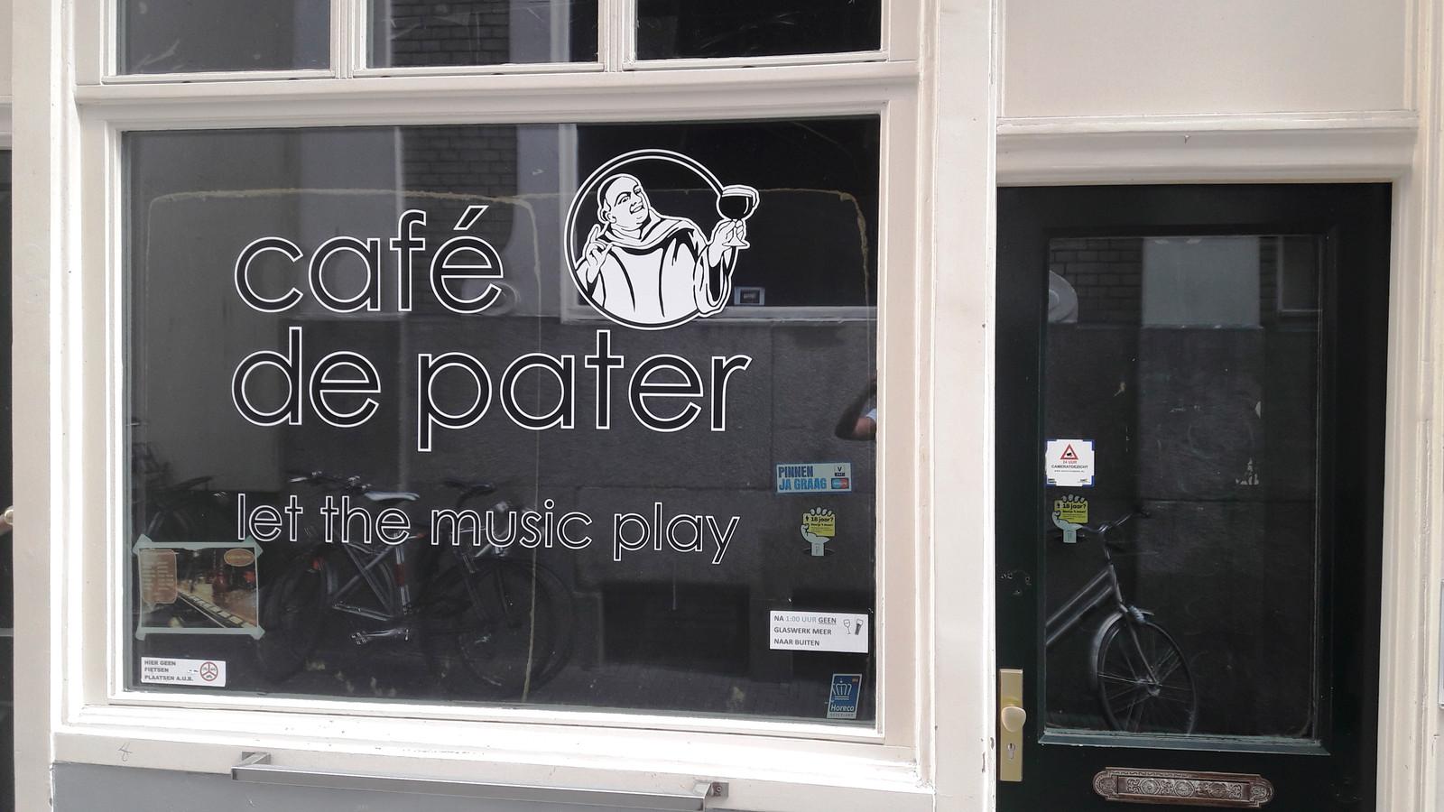 Café De Pater in Den Haag