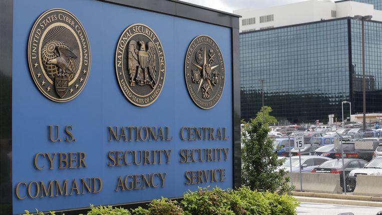 Het hoofdkantoor van de NSA. Beeld ap