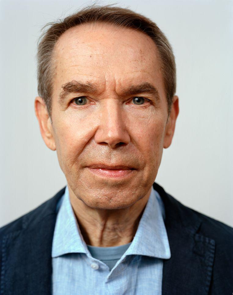 Jeff Koons geportretteerd door de Nederlandse fotograaf Dana Lixenberg. Beeld Dana Lixenberg