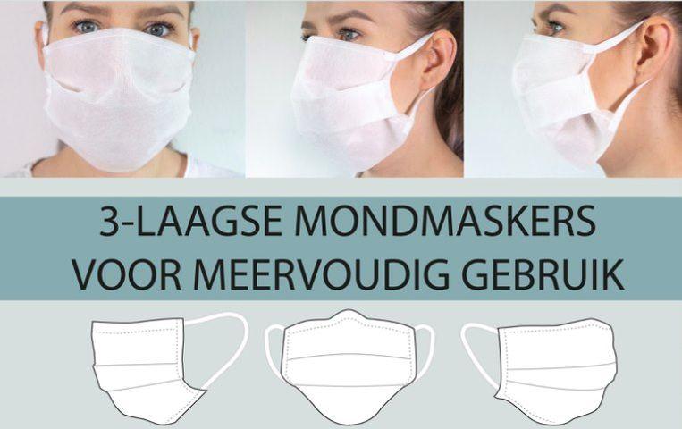 De stad voorziet tegen maandag 4 mei voor iedere inwoners geboren voor 2009 een mondmasker.