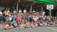 Uthola sluit bomvolle sportkampen af in Vrije Basisschool Grotenberge