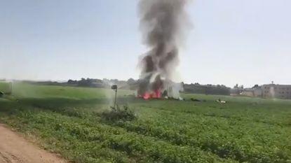 Spaans legervliegtuig stort neer na defilé nationale feestdag: piloot komt om
