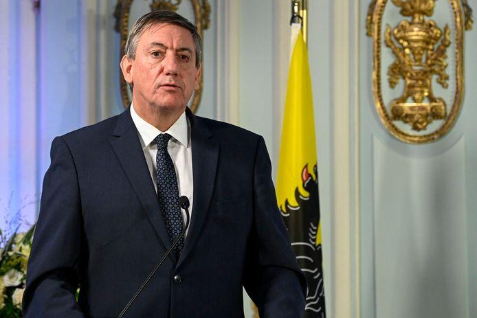 Le ministre-président flamand, Jan Jambon (N-VA)