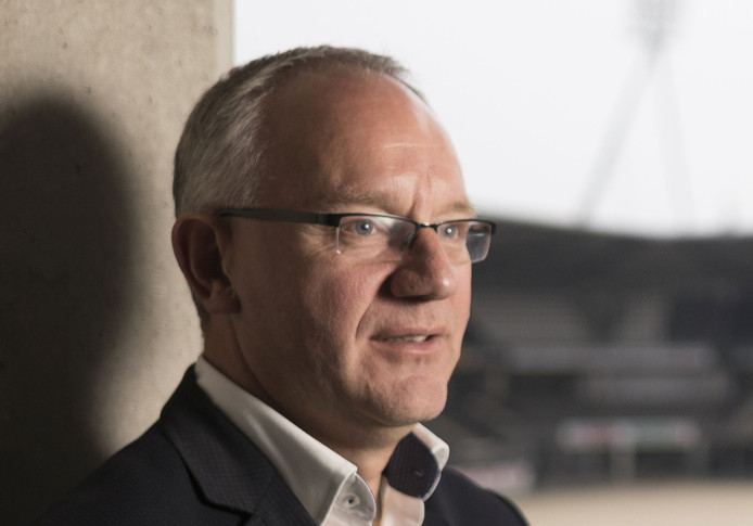 Almelo -  Hans Bredewoud, voorzitter van Heracles.