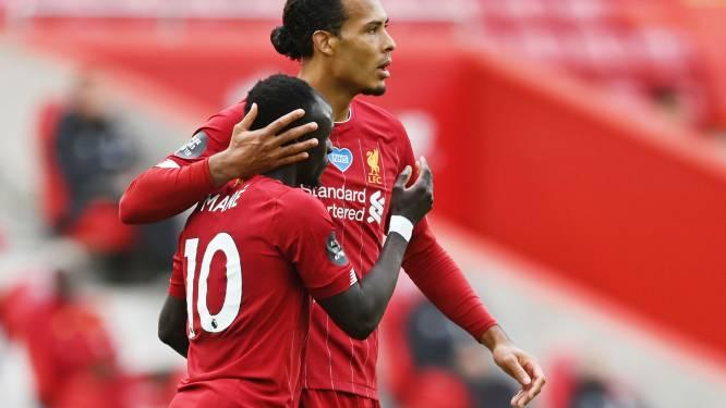 Liverpool vergroot ongeslagen reeks op Anfield naar 57 duels