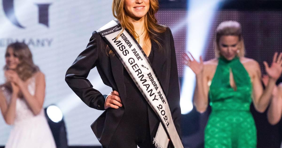 Anja, 33 ans et mère de deux enfants, élue Miss Allemagne 2021 - 7sur7