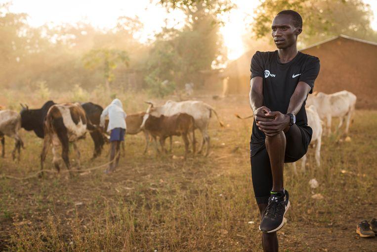 Joshua Cheptegei, het grootste hardlooptalent van Oeganda. Beeld Dan Vernon