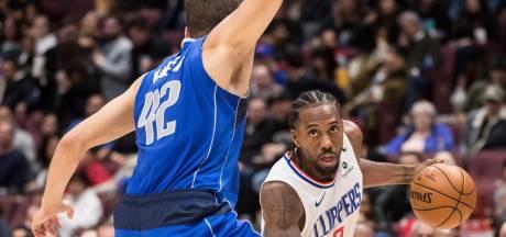 LA Clippers zonder vedette Leonard naar Florida