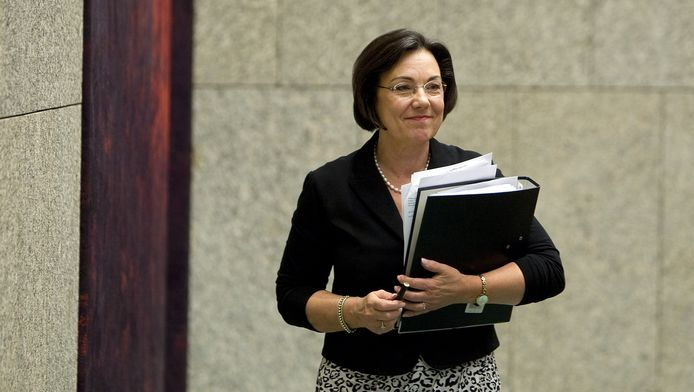 Kamervoorzitter Gerdi Verbeet