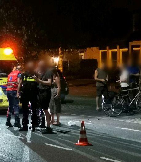 Bestuurder van brommer gewond door aanrijding met auto