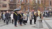 Aangrijpende herdenking van oorlogsslachtoffers op Heldenplaats