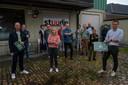 De Belpop Bonanza wandeling werd door het lokaal bestuur en muzikanten voorgesteld op één van de locaties bij Stuudio.