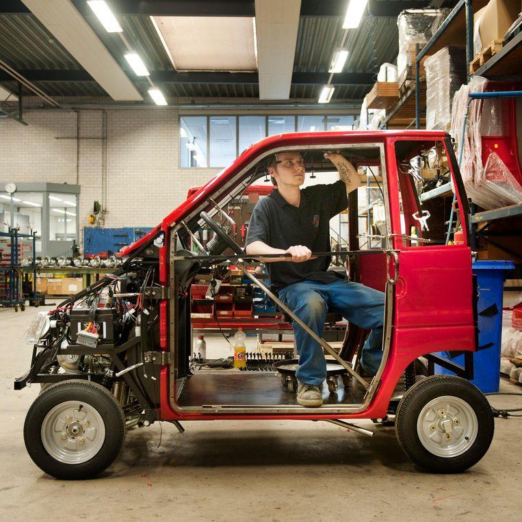 Canta's worden gemaakt in de fabriek van Waaijenberg Mobiliteit in Veenendaal. Beeld An-Sofie Kesteleyn