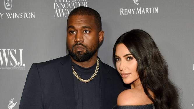 """Kanye West is kapot van de breuk met Kim Kardashian: """"Hij is angstig, verward en verdrietig, maar zijn spijt komt te laat"""""""