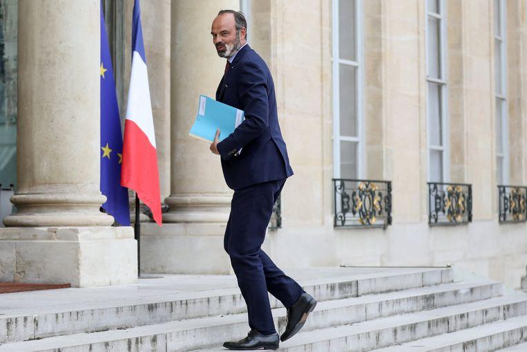 Premier Edouard Philippe Beeld Photo News