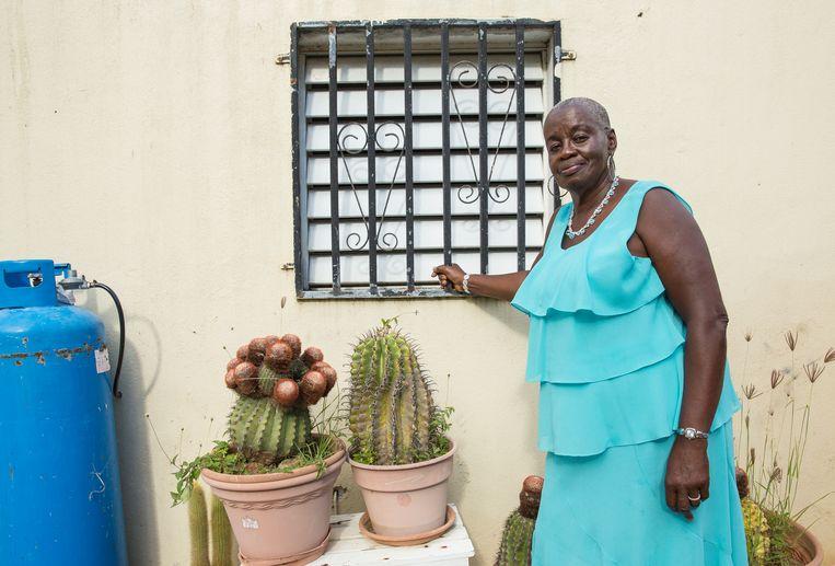 Christina Hodge, de officieuze 'burgemeester' van Dutch Quarter. Beeld Sinaya Wolfert