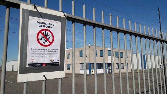 Eerder werd een bedrijfspand gesloten in Oosterhout. Dit pand is inmiddels al een tijd weer in gebruik.