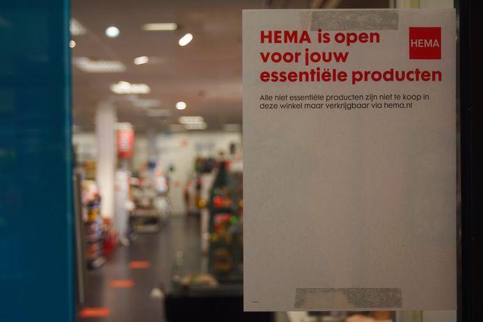 'De HEMA ziet in essentiële etenswaar als rookworst de sleutel om de winkeldeur open te houden.'